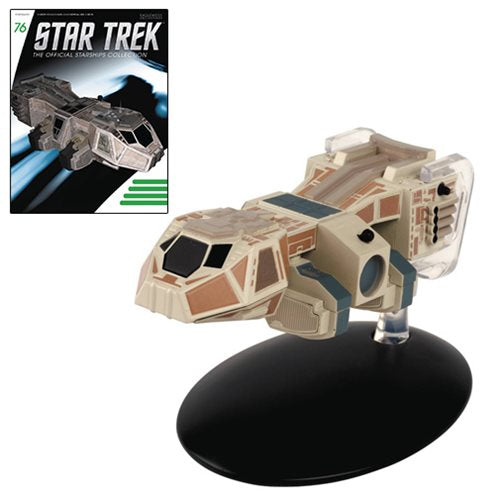 Star Trek Starships Neelixs Ship Baxial Die-Cast Vehicle with Magazine #76