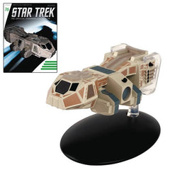 Star Trek Starships Neelixs Ship Baxial Die-Cast Vehicle with Collector Magazine #76 - Toy Wars - Eaglemoss