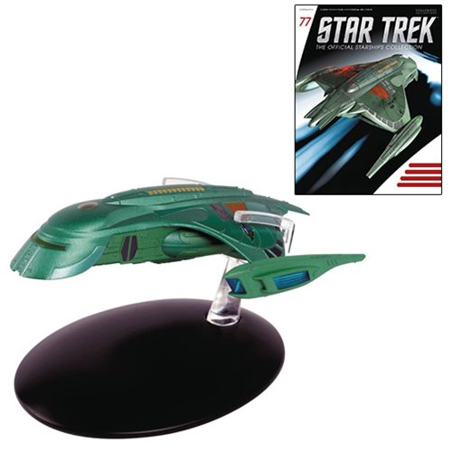 Star Trek Starships Romulan Shuttle Die-Cast Vehicle with Collector Magazine #77 - Toy Wars - Eaglemoss