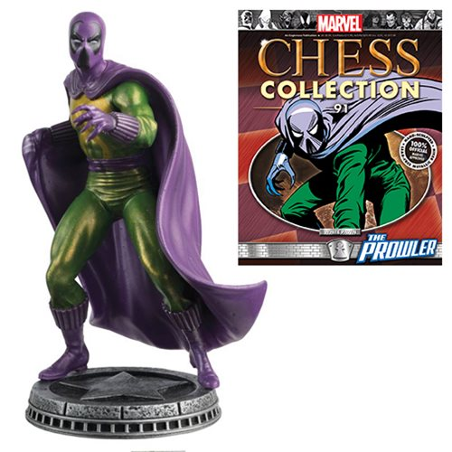 Amazing Spider-Man Prowler White Pawn Chess Piece with Collector Magazine #91