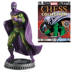Amazing Spider-Man Prowler White Pawn Chess Piece with Collector Magazine #91 - Toy Wars - Eaglemoss