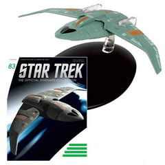Star Trek Starships Bajoran Troop Transport Die-Cast Vehicle with Collector Magazine #83 - Toy Wars - Eaglemoss