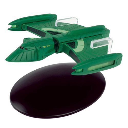 Star Trek Starships Romulan Scout Ship Die-Cast Vehicle with Collector Magazine #90