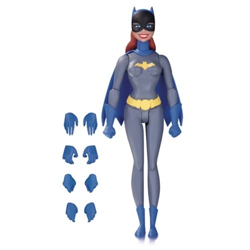 Batman: The Animated Series Batgirl Grey Suit Action Figure