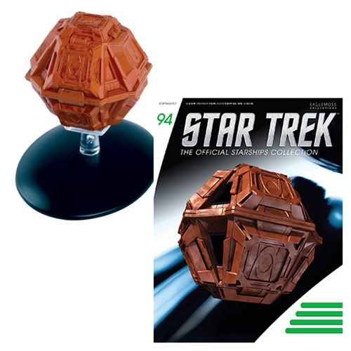Star Trek Starships Suliban Cell Ship Die-Cast Vehicle with Collector Magazine #94