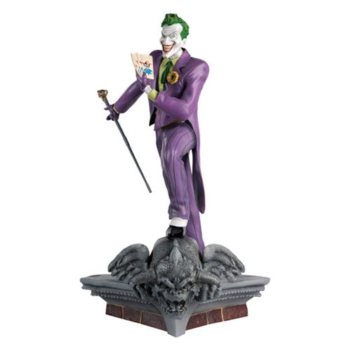 DC Superhero Mega Dark Knight Joker Best of Figure Special #2 with gargoyle base
