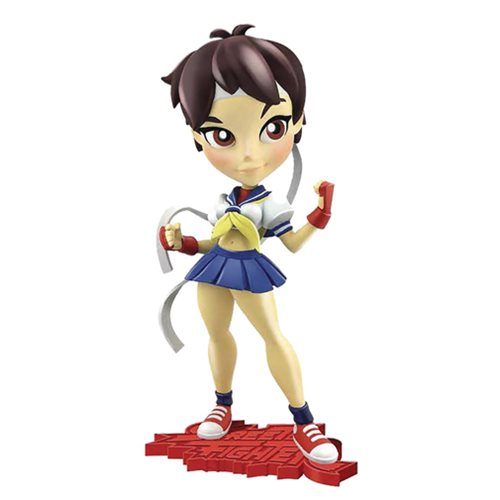 Preorder August 2017 Street Fighter Knockouts Series 1 Sakura Vinyl Figure