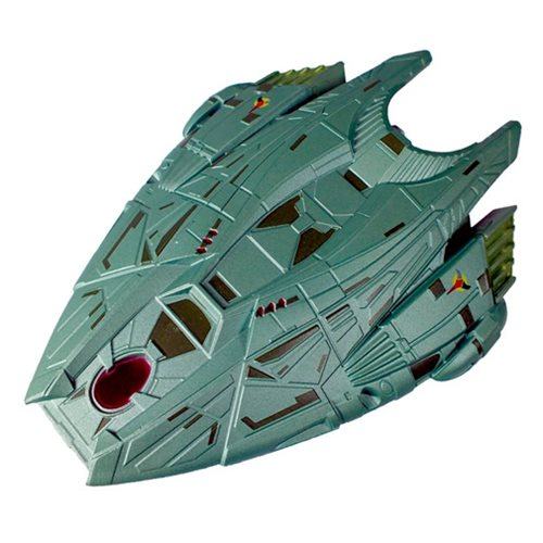 Star Trek Starships Klingon Transport Die-Cast Vehicle with Magazine #71