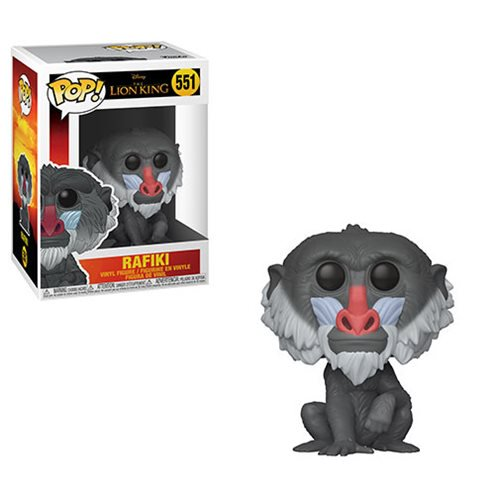 Lion King Live Action Rafiki Pop! Vinyl Figure #551