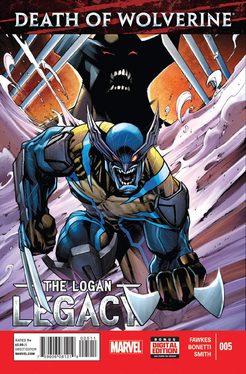 Death of Wolverine Logan Legacy #5 (of 7) Comic Book