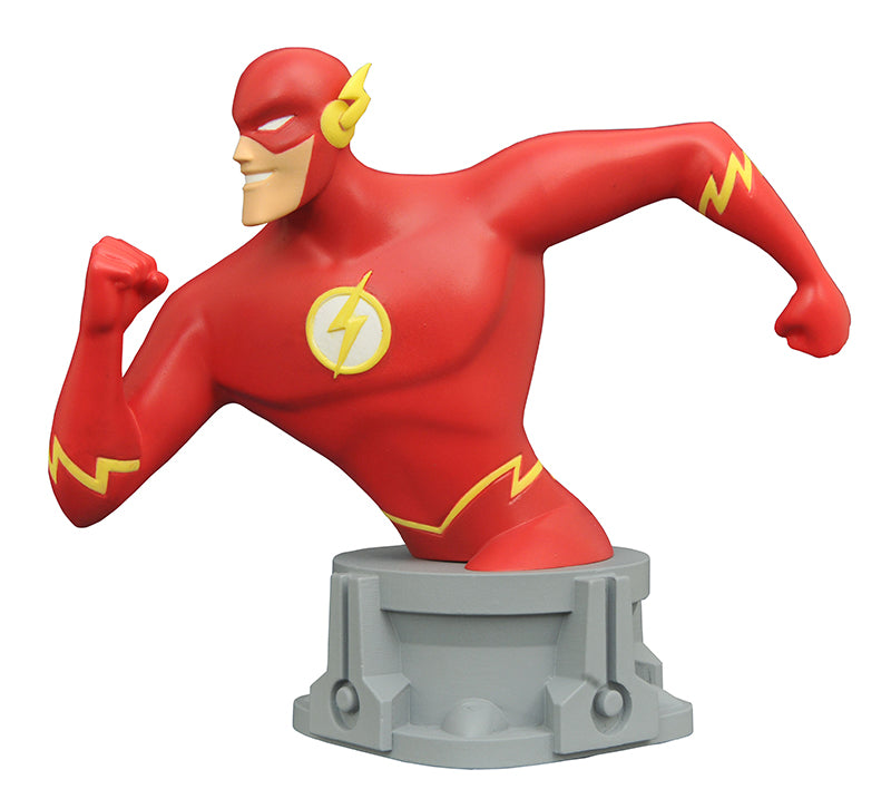 Preorder SDCC 2017 Exclusive JLA Animated Series Flash Resin Bust