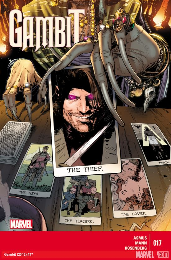 Gambit #17 Comic Book