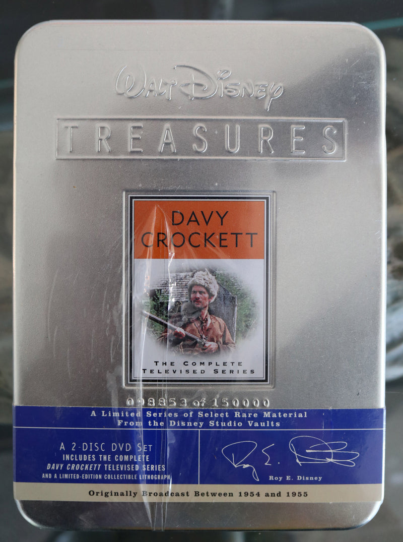 Walt Disney Treasures Davy Crockett The Complete DVD Televised Series #98853 of 150000