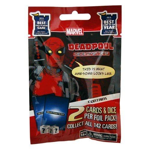 Marvel Deadpool Dice Masters Booster Pack