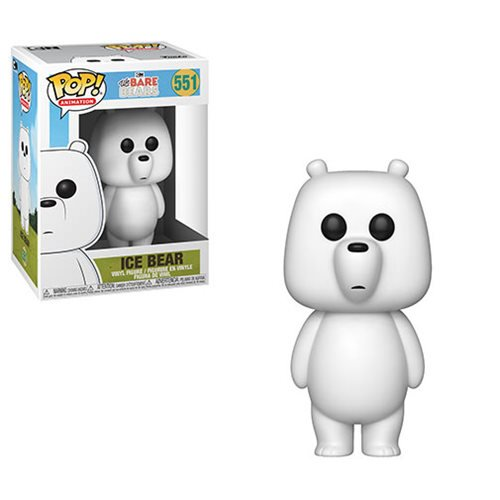 We Bare Bears Ice Bear Pop! Vinyl Figure #551