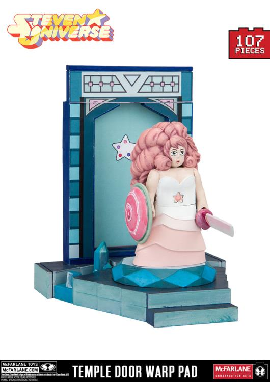 Steven Universe Temple Door Warp Pad Small Construction Set