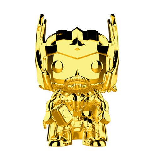 Preorder Marvel Studio's 10th Anniversary Chrome Thor Pop! Vinyl Figure #381