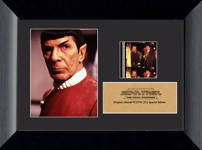 Star Trek V: The Final Frontier (Spock) Minicell Film Cell