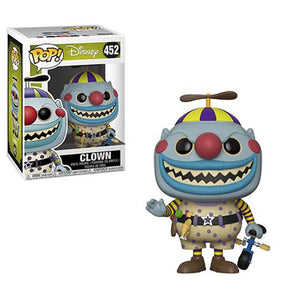 Preorder Nightmare Before Christmas Clown Pop! Vinyl Figure #452
