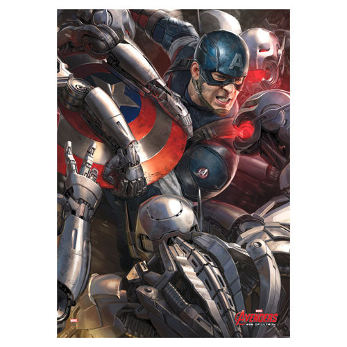 Avengers Age of Ultron Captain America MightyPrint Wall Art Print Poster