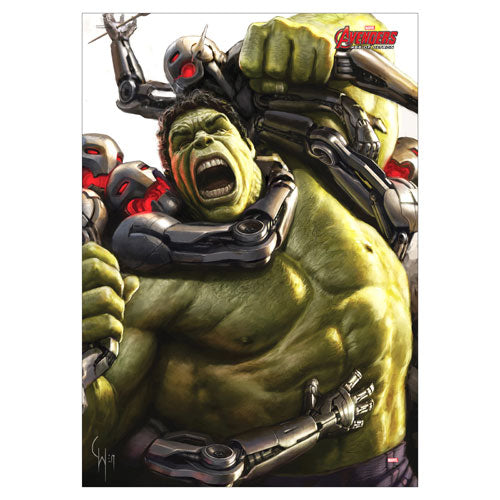 Avengers Age of Ultron Incredible Hulk MightyPrint Wall Art Print Poster