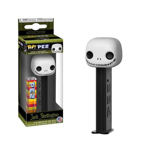 Preorder Nightmare Before Christmas Jack Skellington Pop! Pez
