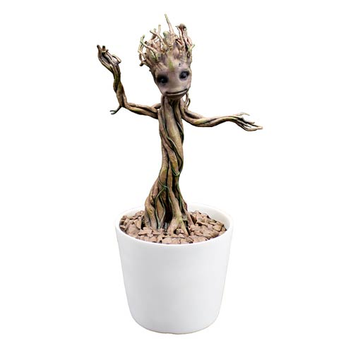 Guardians of the Galaxy Baby Dancing Groot Premium Motion Statue Prop Replica