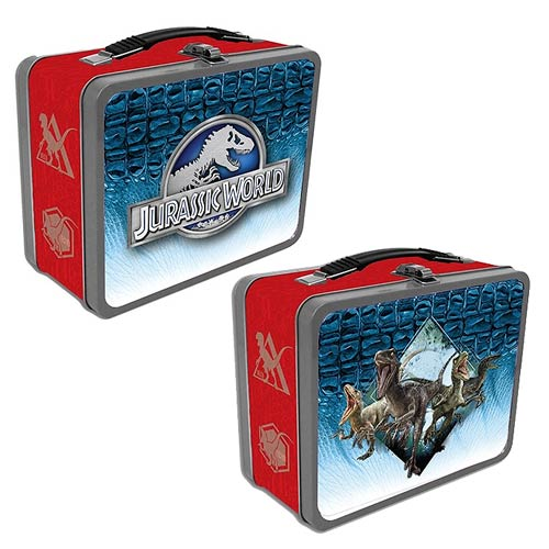 Jurassic World Raptors Tin Tote