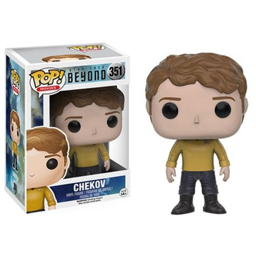 Star Trek Beyond Chekov Anton Yelchin Pop! Vinyl Figure #351