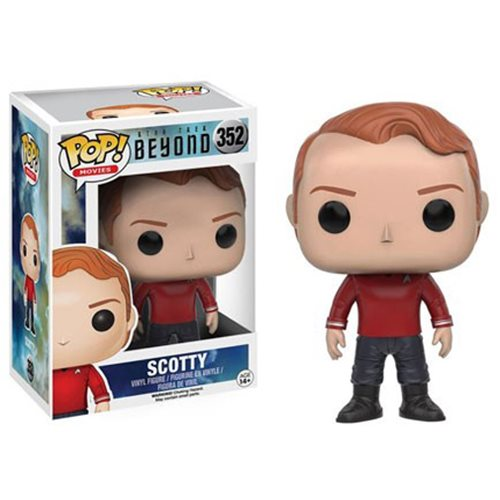 Star Trek Beyond Scotty Simon Pegg Pop! Vinyl Figure #352
