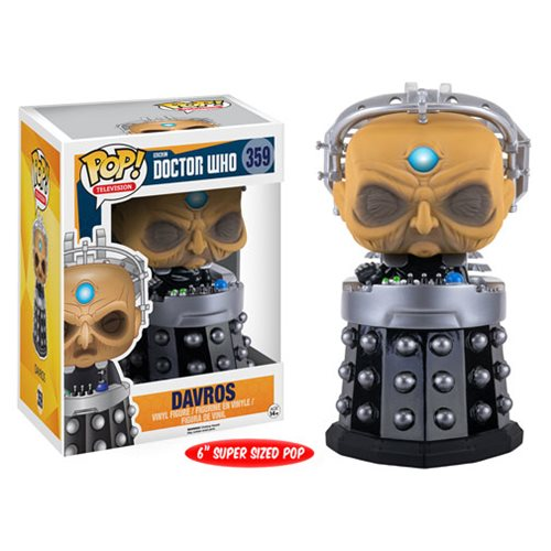 Doctor Who Davros 6-Inch Pop! Vinyl Figure - Toy Wars - Funko
