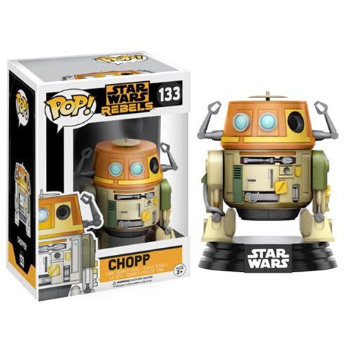 "Star Wars Rebels Chopper ""CHOPP"" Error Box Pop! Vinyl Bobble Head"