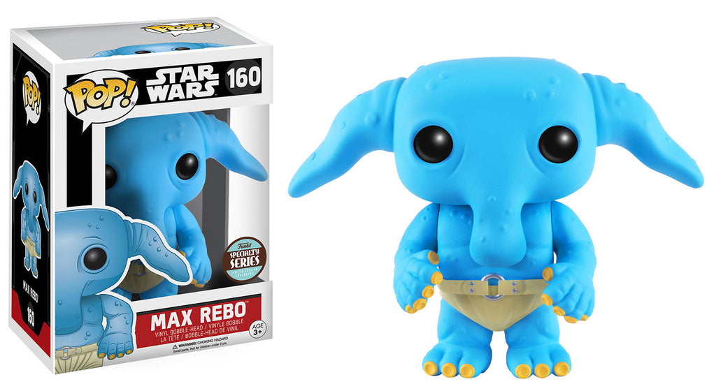 Specialty Store Exclusive Star Wars Max Rebo Pop! Vinyl Figure