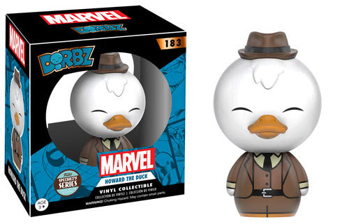 Specialty Store Exclusive Guardians of the Galaxy Howard the Duck Dorbz Figure