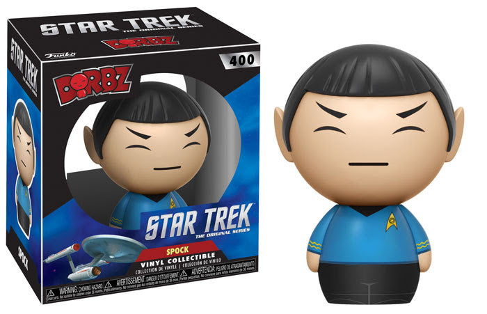 Star Trek: The Original Series Spock Dorbz Vinyl Figure #400