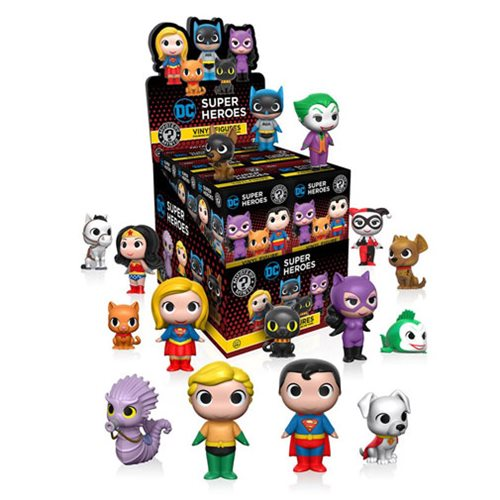 DC Super Heroes and Pets Mystery Minis Series 1 (One Random Figure) - Toy Wars - Funko
