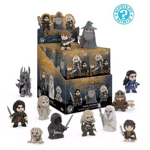 Preorder  The Lord of the Rings Mystery Minis Case of 12