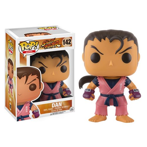 Street Fighter Dan Pop! Vinyl Figure - Toy Wars - Funko