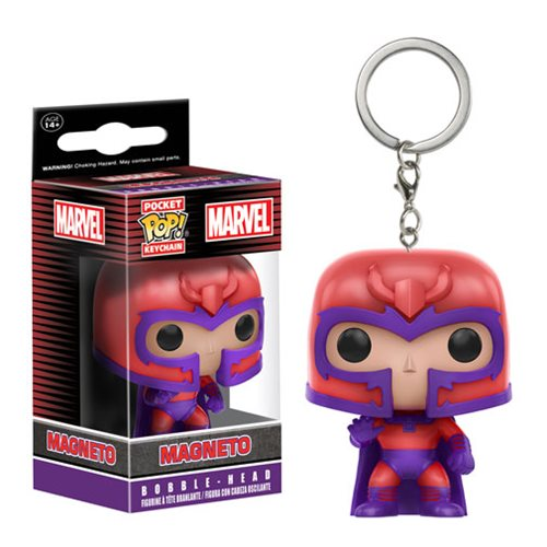 X-Men Magneto Pocket Pop! Key Chain - Toy Wars - Funko