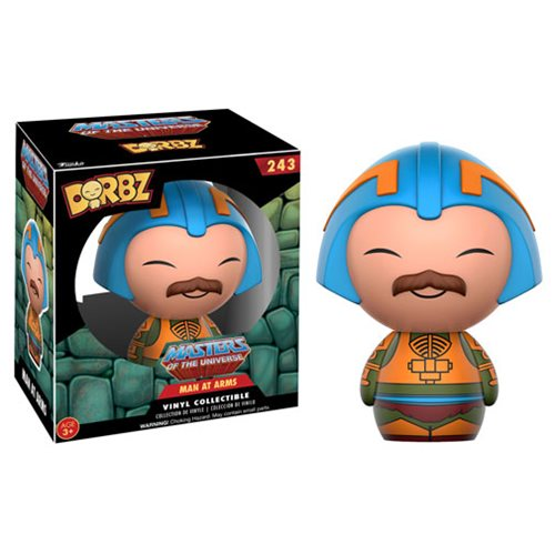 Masters of the Universe Man At Arms Dorbz Vinyl Figure
