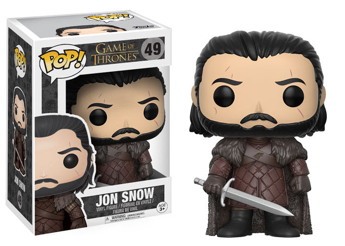 Preorder August 2017 Game of Thrones Jon Snow Pop! Vinyl Figure