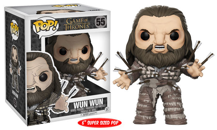 Preorder August 2017 Game of Thrones Wun Wun with Arrows 6-Inch Pop! Vinyl Figure