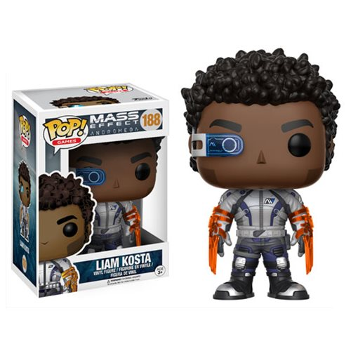 Mass Effect: Andromeda Liam Kosta Pop! Vinyl Figure #188
