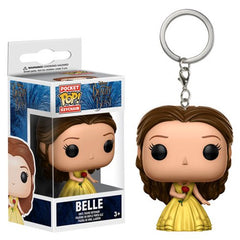 Preorder FEB 2017 Beauty and the Beast Live Action Belle Pocket Pop! Key Chain - Toy Wars - Funko
