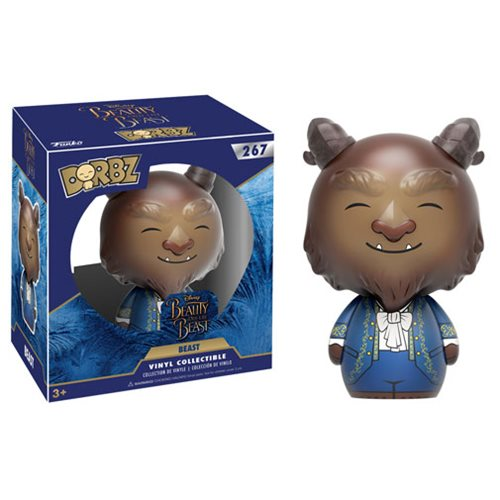 Beauty and the Beast Live Action Beast Dorbz Vinyl Figure