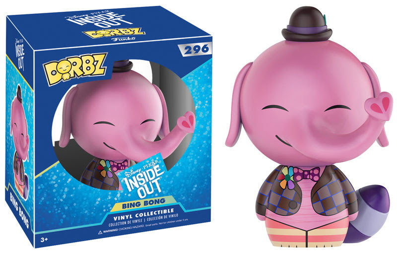 Inside Out Bing Bong Dorbz Vinyl Figure
