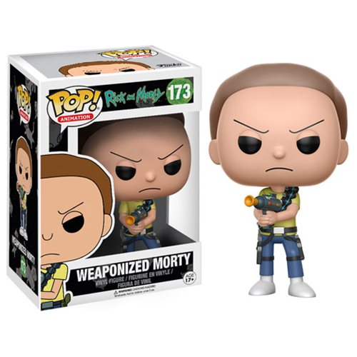 Preorder April 2017 Rick and Morty Weaponized Morty Pop! Vinyl Figure