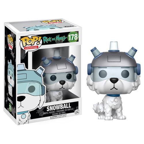 Preorder April 2017 Rick and Morty Snowball Pop! Vinyl Figure