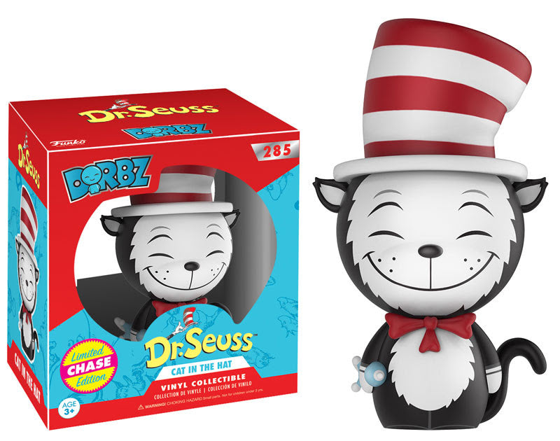 Preorder May 2017 Dr. Seuss Cat in the Hat Dorbz Chase Vinyl Figure - Toy Wars - Funko
