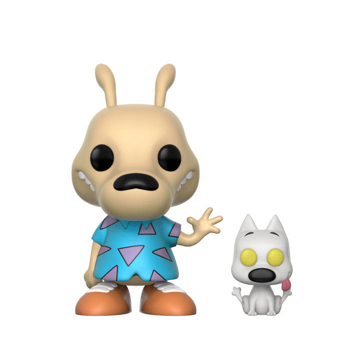 Preorder December 2017 Rocko's Modern Life Rocko and Spunky Pop! Vinyl Figure